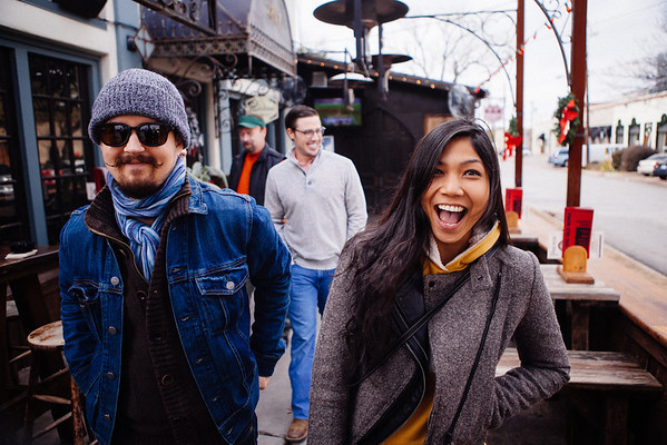 December 22  Brunch! Old Monk! It was marvelous. We had so many people we had to stretch the table out. Jon even brought his ladyfriend by so we all could meet her. I gotta say, I think she's gonna be alright.  On a whim, Emily and I nearly went out for dinner and a movie. We did actually leave the house, but traffic at the mall was completely horrible. People seriously are shopping at the last possible minute.  So by the time we got through all that mess and to the actual parking lot, we were over it and decided to leave. Plus we were going to be late for the move. Soooo.... we went to Cane's and sat on the couch all evening. Magical.
